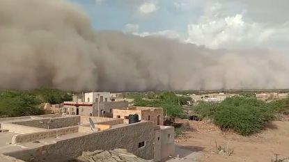 Enorme zandstorm veroorzaakt grote paniek in India