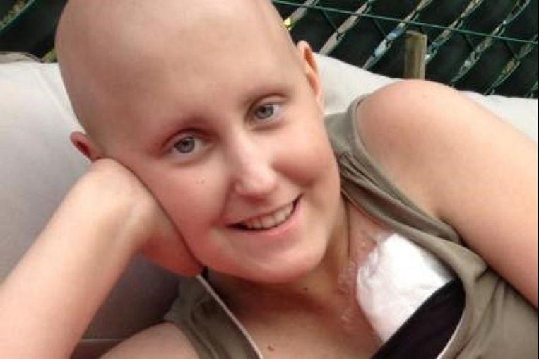 Leukemiepatiënte Jana (15) kreeg net voor Kerstmis te horen dat de kanker terug is gekomen.