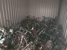 Vier mannen aangehouden na vondst tientallen gestolen fietsen in Amersfoort