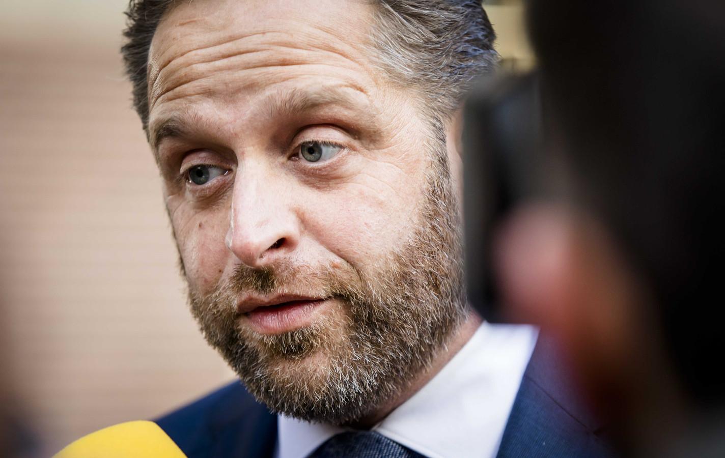 Minister Hugo de Jonge van Volksgezondheid