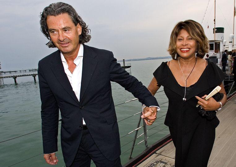 Erwin Bach en Tina Turner. Beeld REUTERS