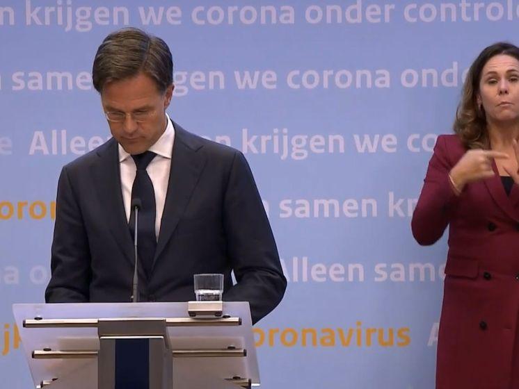 Deze nieuwe coronamaatregelen kondigde Rutte aan