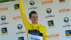 Ben Hermans machtig naar eindzege in Tour of Utah