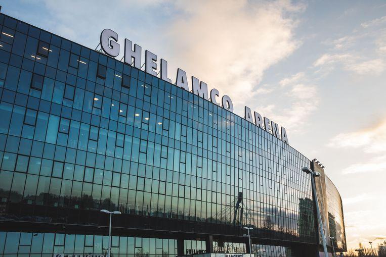 De Ghelamco Arena, waar de beruchte 'skybox van de stad' is.