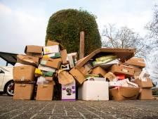 Berg verpakkingsmateriaal groeit en groeit tijdens lockdown