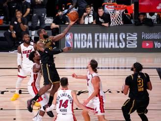 LA Lakers twee zeges verwijderd van NBA-titel, LeBron James op de afspraak