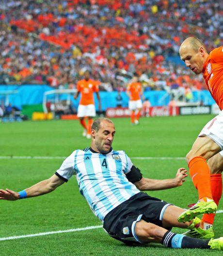Argentijnse back Zabaleta (35) zet punt achter loopbaan