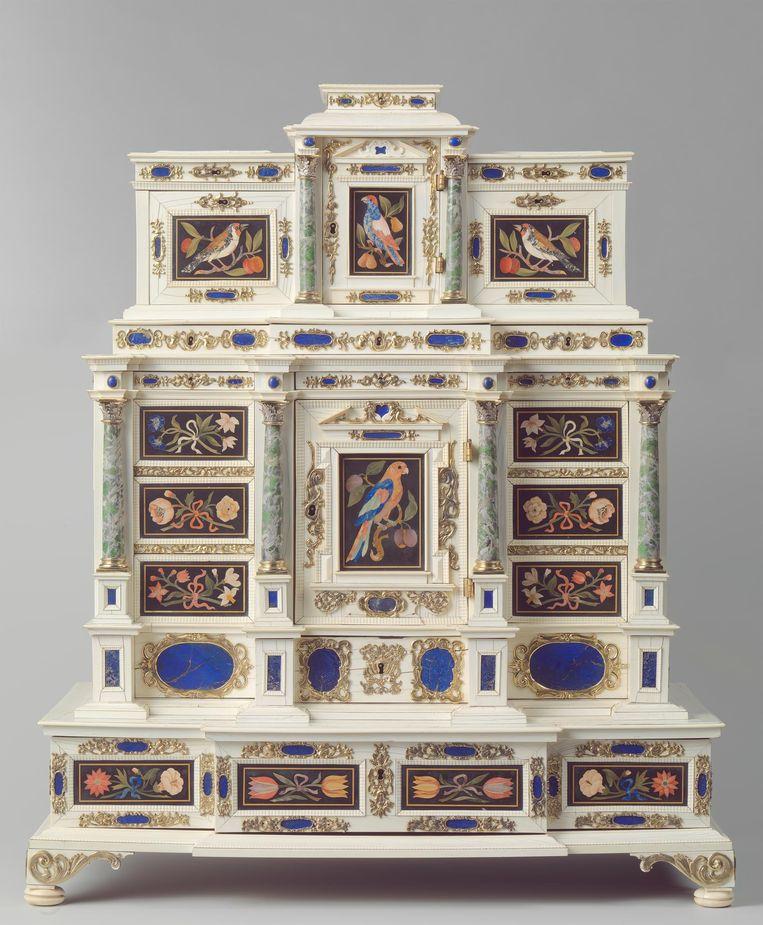 kabinet van onbekende hand (ca. 1660-1670) Beeld Rijksmuseum