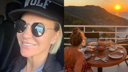 SHOWBITS. Kate Ryan heeft goed nieuws en welke BV geniet van deze prachtige zonsondergang?