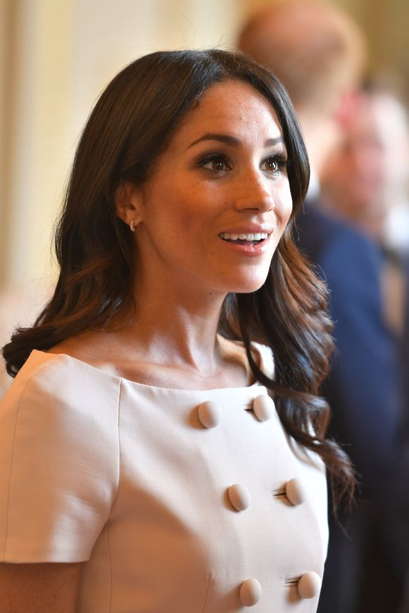 Meghan Markle bij de Queen's Young Leaders Awards