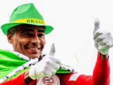 Romario geniet van carnaval in Lampegat: 'Mensen hier zijn geweldig'