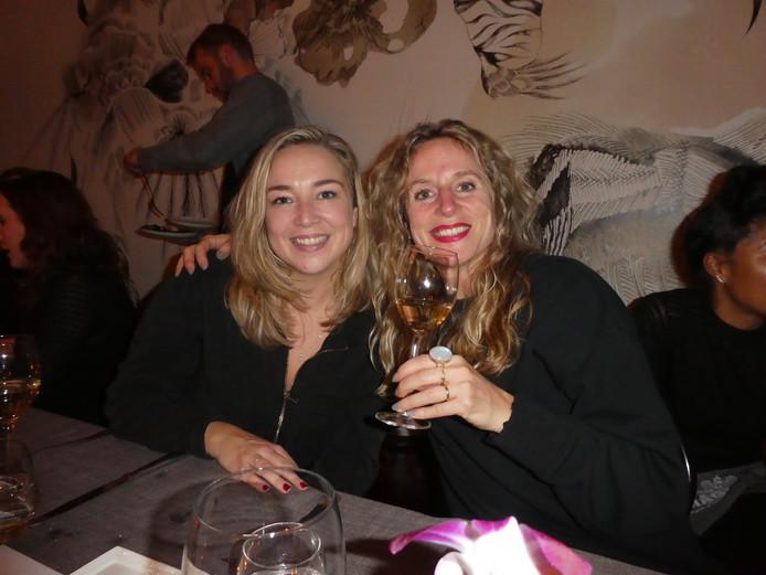 Adeline Mans (Amayzine) en Sharon Jacky van Lokhorst (FavorFlav).