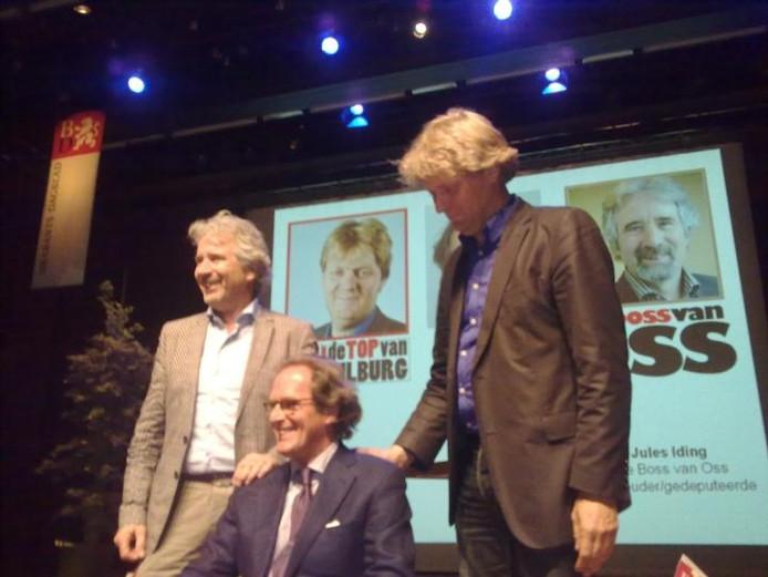 Burgemeester Ton Rombouts, de meeste invloedrijke man van Den Bosch. foto Paul Roovers/BD