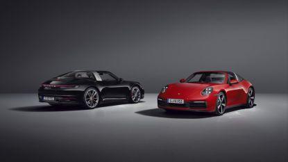 Nieuwe Porsche 911 Targa is cabriolet en coupé tegelijk
