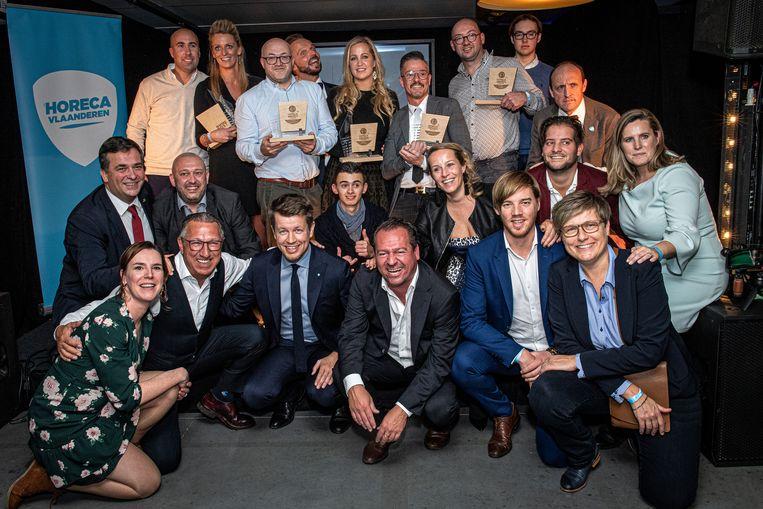 De winnaars van de Horeca Awards.