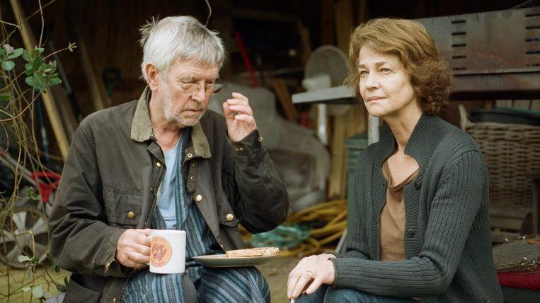 Tom Courtenay en Charlotte Rampling in 45 Years van Andrew Haigh. Beeld