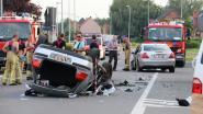Inhaalmanoeuvre loopt dramatisch af in Schoonaarde: jonge bestuurder (18) overleden