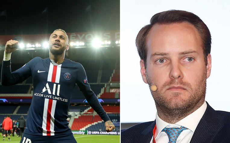 Neymar en Wouter Lambrecht