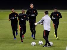 Fotoserie: Oranje werkt laatste training af voor duel met Duitsland