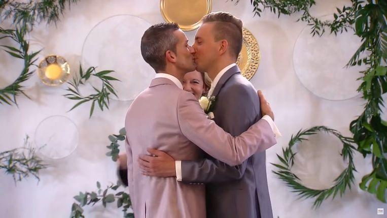 In het Nederlandse 'Married at First Sight' werd al in 2017 een homokoppel geïntroduceerd. Het huwelijk van Simon en Anthony bleef echter niet duren.