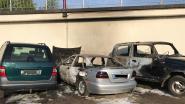 Drie auto's vernield bij brandstichting aan Kanaaldijk
