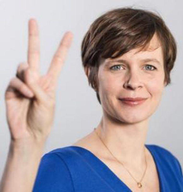 Cieltje Van Achter, verkozen met 503 stemmen.