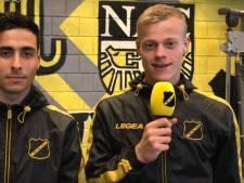 Multifunctionele Van Hecke en Azzagari nu ook al interviewers bij NAC Breda