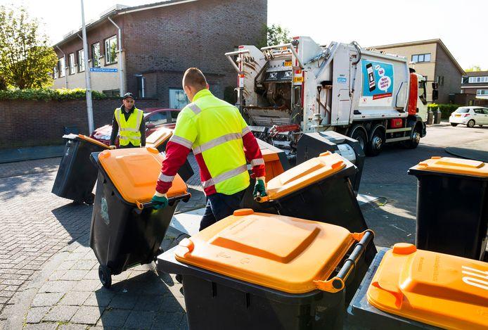 Inzameling van plastic in Utrecht.