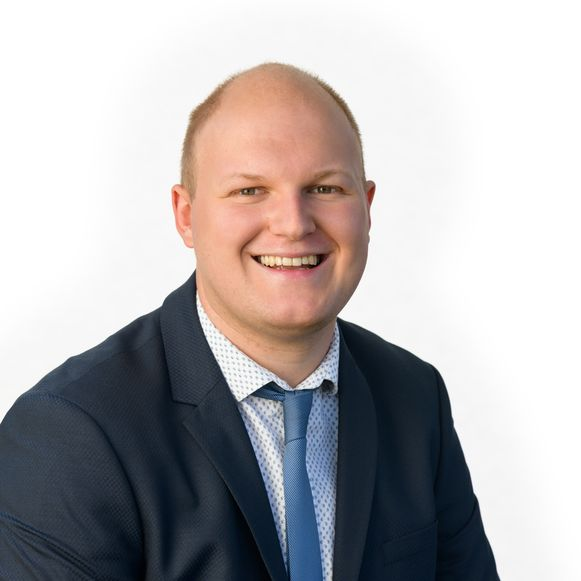Mitchel Vaes is verkozen tot nieuwe afdelingsvoorzitter.