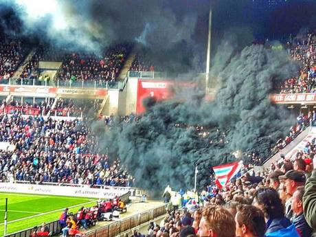 Eindhovenaar die betrokken was bij rookpottenincident PSV-Ajax op vrije voeten