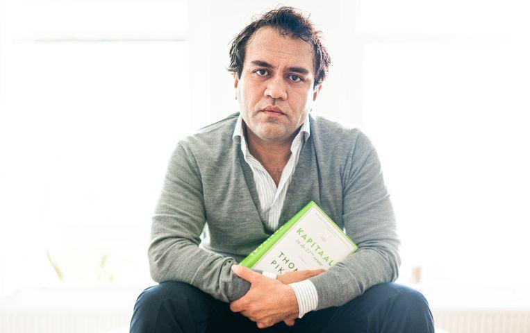 Zihni Özdil (GroenLinks): 'Ik heb vaak het gevoel gehad in een keurslijf te zitten.' Beeld Freek van den Bergh