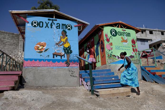 Oxfam hielp op Haïti na de aardbeving in 2010.