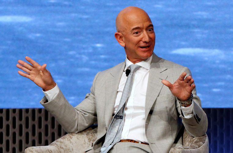 Amazon-oprichter Jeff Bezos is nog steeds de rijkste man ter wereld. Beeld REUTERS
