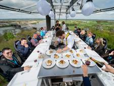 Spectaculair evenement 'Dinner in the Sky' komt naar Woerden
