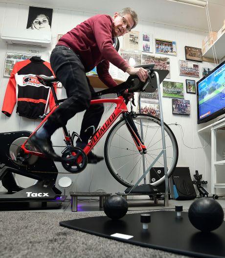 Roosendaler maakt fietstrainen stuk realistischer met kantelplaat