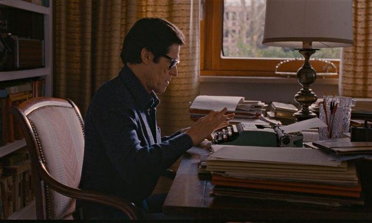 Willem Dafoe als Pier Paolo Pasolini. Beeld