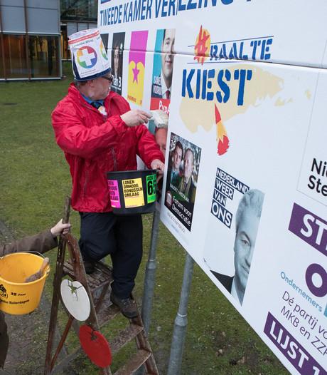 Na 30 jaar hoeft Heinz Jansen geen posters meer te plakken