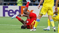 Straffe statistiek: Batshuayi sinds debuut efficiëntste spits ter wereld