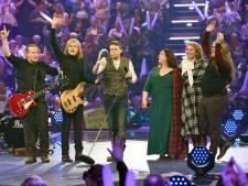 Fans tellen af naar concert Kelly Family in Ahoy