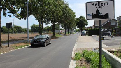 Weer verkeer mogelijk door dorp Bellem