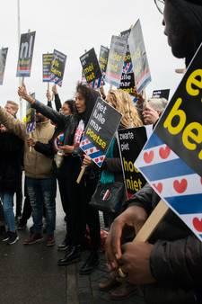 Burgemeester Dokkum: Betogers intocht namen vuurwerk mee