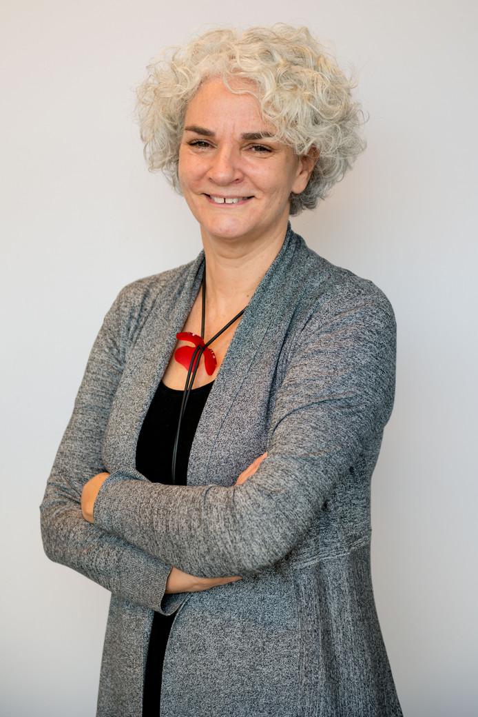 Liesbeth Dirks, geschiedenisleraar van het jaar.