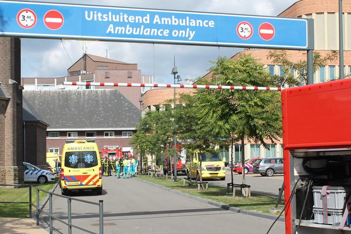 Op de afdeling spoedeisende hulp van het Laurentius Ziekenhuis heeft korte tijd brand gewoed.