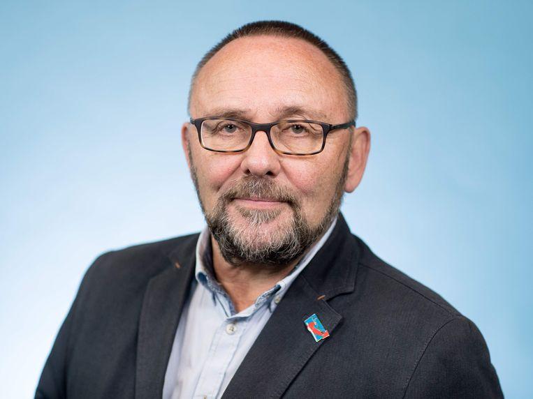 Frank Magnitz in oktober 2017. Beeld AFP
