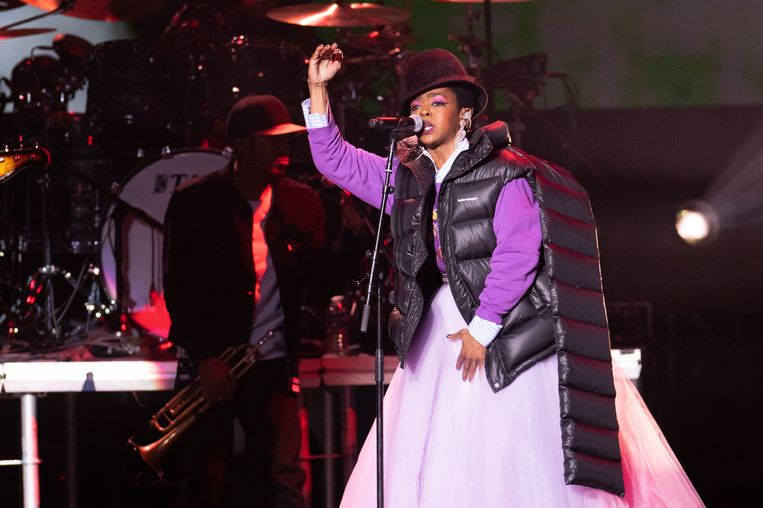 Lauryn Hill in Vorst. Beeld Alex Vanhee