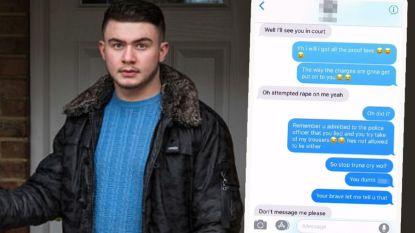 Tiener vliegt in cel en raakt werk kwijt nadat ex hem beschuldigt van verkrachting. Tot zijn familie vreemde tekstberichtjes vindt