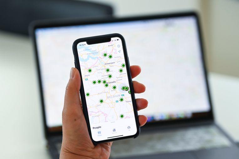 Een tracing app voor ons land wordt verwacht in augustus, zegt Vias.