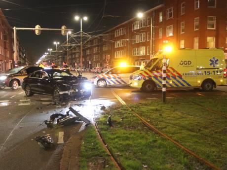 Vluchtende bestuurder gepakt na botsing op Lorentzplein
