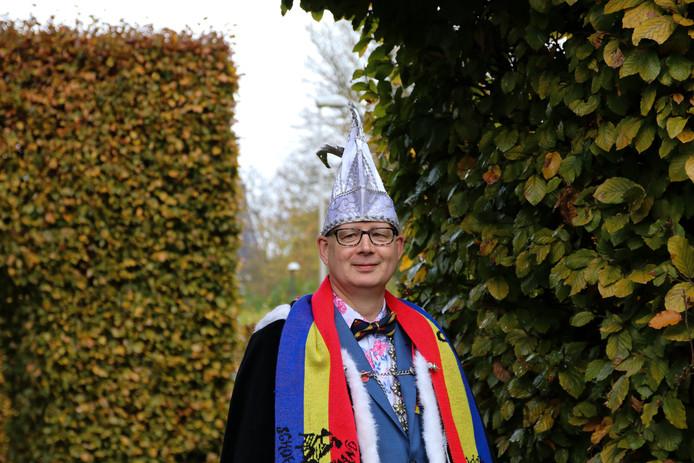 Prins Arjan van CCV Schoenenlapperslaand.