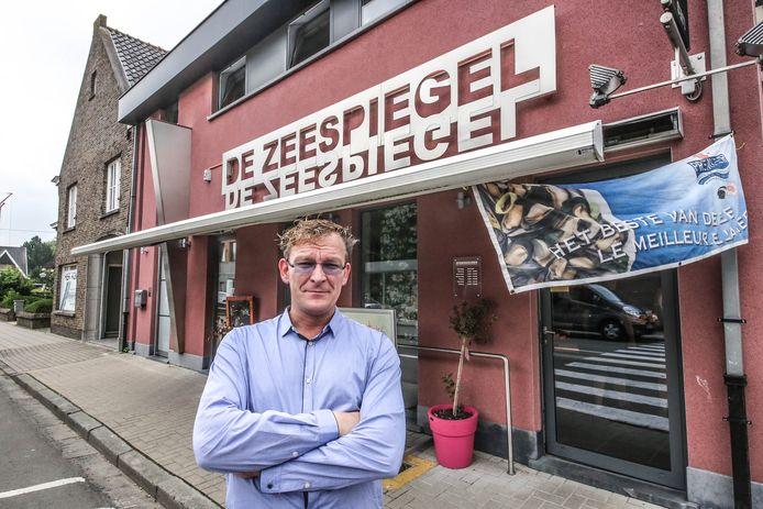 Kurt Samyn van vishandel De Zeespiegel.